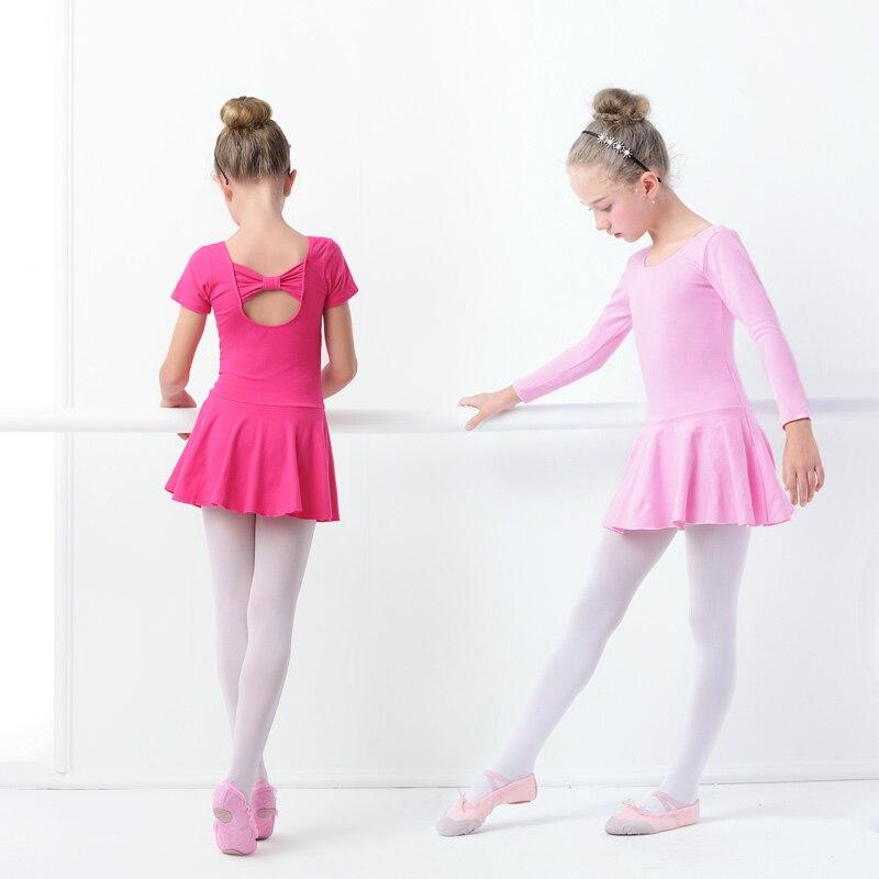ילדים שרוול ארוך בלט שמלה בנות ילדים - מוצרים חדשים