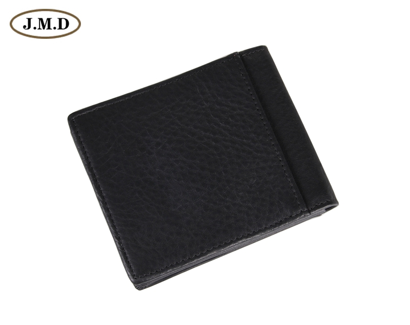 8055A New Arrival Black Fashion Genuine Leather  Mens Wallet Clutch Bag