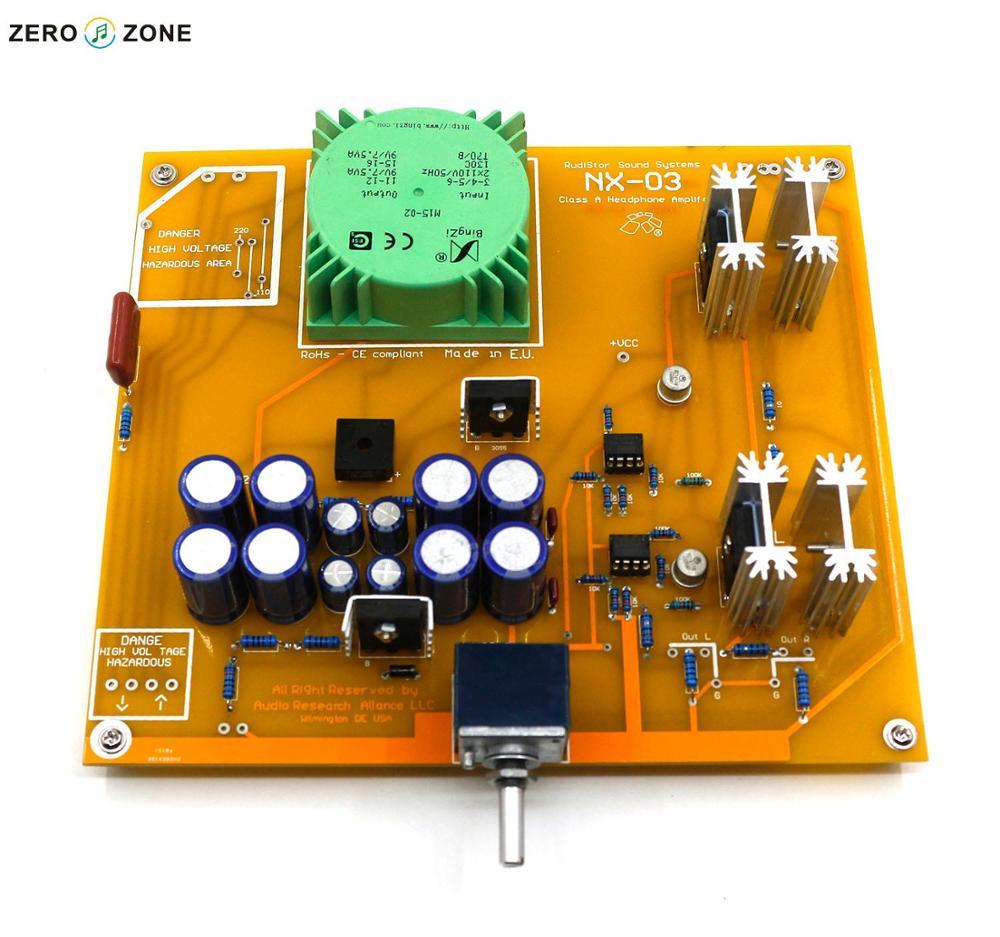 bilder für GZLOZONE Montiert NX-03 Kopfhörer Verstärkerplatine Basis Auf Italien RudiStor NX03 Verstärker