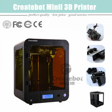 2015 Digital Single Extruder 3D Printer Machine With CE FCC ROHS Certificate Support ABS PLA PVA