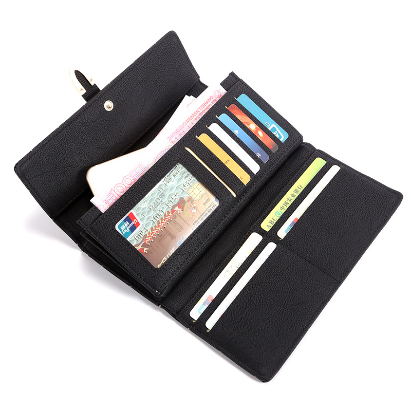 2018 New Women Wallets Female Leather Purses Large Capacity Coin Card Holders Fashion Ladies Wallet Clutch Long Design Carteras 2