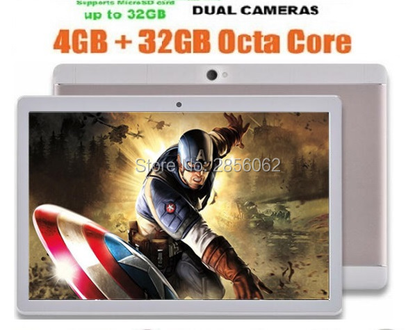 10 inch MTK8752 Octa Core 3G Phone Tablet PC 4GB RAM 64GB ROM Android 5.1 GPS Dual Camera Pad Tablet 10