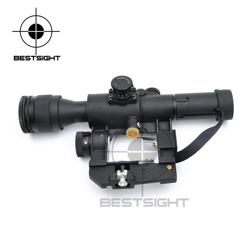 Tactical Hunting SVD Dragunov Optics 4x26 Red Illuminated Rifle Scope Airsoft Red Dot Sight Sniper Gear 3 5 10x40e red green dot laser sight scope hunting optics riflescopes tactical airsoft air guns scope chasse sniper rifle scope