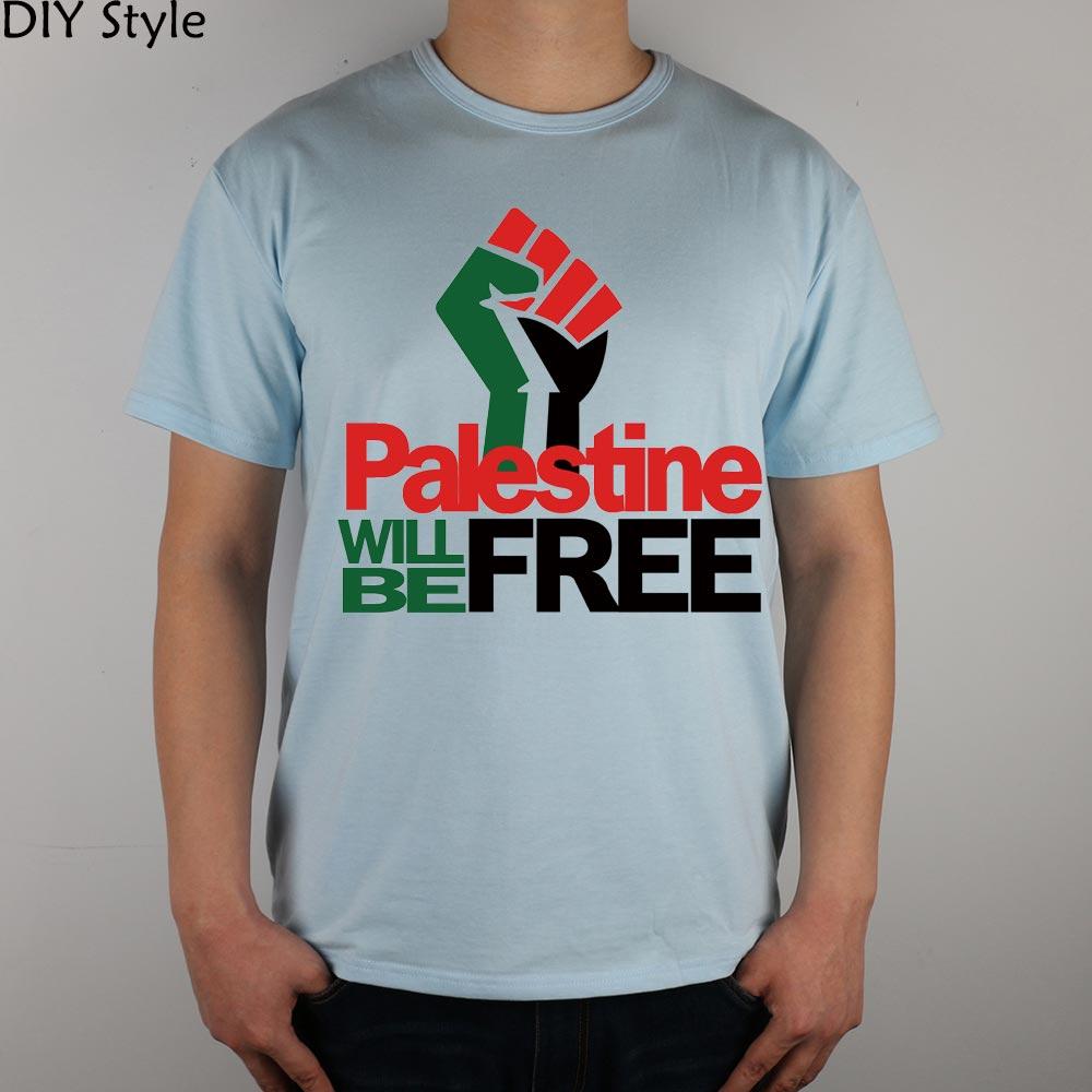 PALESTINE LIBERARÁ hombres palestinos camiseta de manga corta 2078 - Ropa de hombre - foto 2