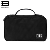 BAGSMART 2016 Travel Package Bags Hand Portable Nylon Toiletry Bag Lightweight Travel Cosmetic Bag Makeup Bag