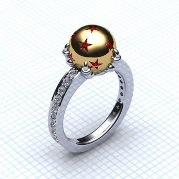 Aliexpress Com Buy Wholesale Stainless Steel Dragon Ball Ring For