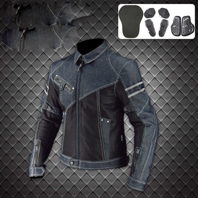 JK-006 Vintage Denim Mesh Jacket 1