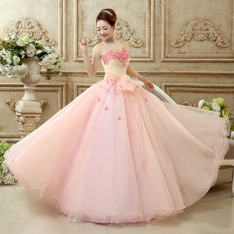 0835f60cc69b Hot Pink Quinceanera Dresses Ball Gown Sweetheart Off Shoulder Floral  Beading Debutante Gown Vestidos Baratos Quinceanera WA081-in Quinceanera  Dresses from ...
