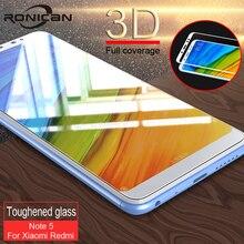 מלא כיסוי מסך מגן זכוכית לxiaomi Redmi 5 5 בתוספת 5A 4A 3D מזג זכוכית עבור Xiaomi Redmi הערה 5 4 4X 5A פרו זכוכית
