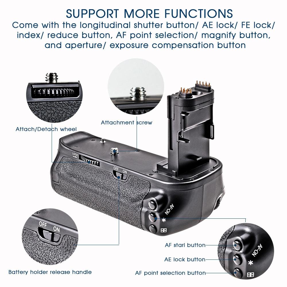 Travor Multi Power Vertical Grip za Canon 6D zamjenu za fotoaparat - Kamera i foto - Foto 5