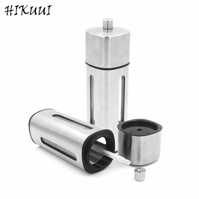 Restaurant Kitchen Manual aliexpress : buy stainless steel square pepper grinder kitchen