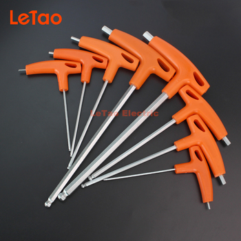 цена на FREE SHIPPING 8 PCS/SET hand tools hex key allen wrench falt ball head metric 2/2.5/3/4/5/6/8/10mm allen hexagonal key set