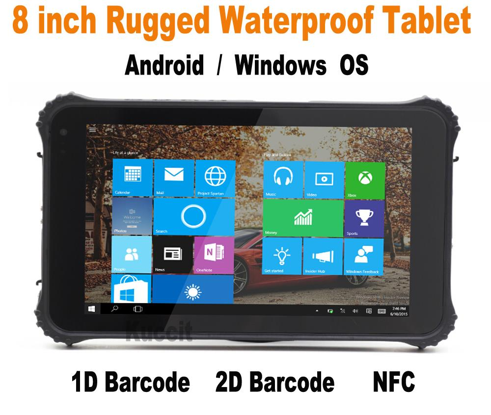 Windows 8 computer - Ip65 Rugged Tablet Pc Windows 10 Industrial Tablet Android Waterproof Pda 8 1d 2d Laser