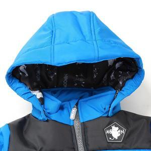 Image 4 - Moomin muumi bleu hiver ensemble garçons hiver combinaison imperméable 160 cm chaud garçons hiver ensemble enfant 20 degrés dessin animé ensemble