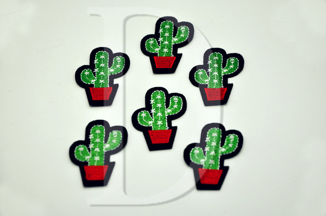 Cactus Shaped Patch