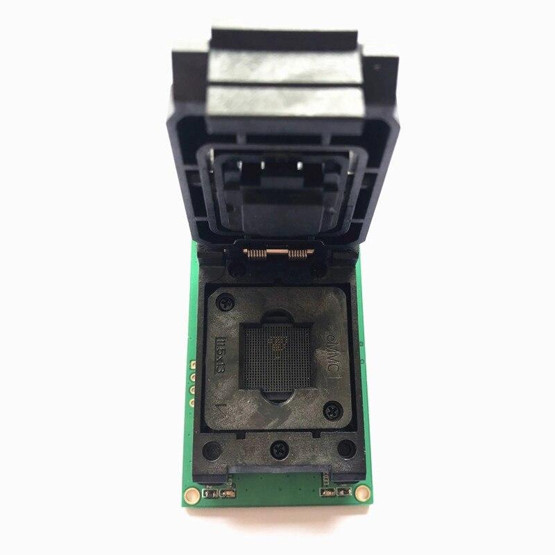 Livraison gratuite BGA254 eMCP254 port prise de Test avec Interface USB 3.0 NAND Test flash prise de programmation à clapet - 3