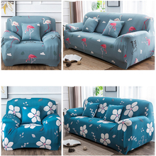Geometic Floral Printing Elastic All-inclusive Corner Slipcovers Sofa Cover Removable Spandex Stretch Protective Couch Cover цена 2017