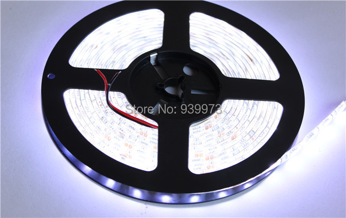 DC12V IP65 Waterproof Flexible Light LED Strip 5050, White/Warm White/Blue/Green/Red/Yellow/RGB 60LEDs/m 5m/lot.