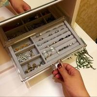 240*135*110mm jewelry display tray Jewelry Organizer Case Jewellery Box Holder Stand Jewlery Box Bracelet Display Trays