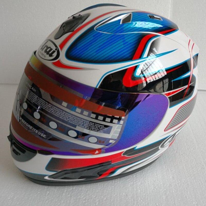 Arai capacete Rx7-top do Japão RR5 pedro moto rcycle corridas capacete capacete completa rosto capacete moto rcycle, capacete, Capacete de moto
