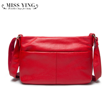 Women's Genuine Leather Tassel Handbags Crossbody Bags Cowhide Leather Fashion New Arrival 2016 Women Messenger Bag High Quality