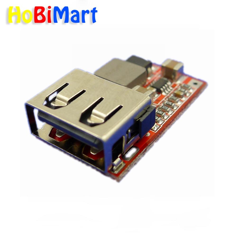 DC 6-24V 12V/24v to 5V USB Output charger step down Power Module Mini DC-DC Step Up Boost Module Power Adjustable buck Converter