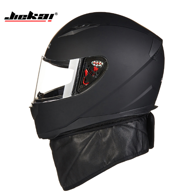 High-quality motorcycle helmet full face racing helmet motorcycle cross-country head protection capacete Keep your neck warm