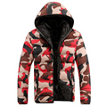 2016 New Fashion Jacket Warm Camouflage Jacket Overcoat College Coat Jacket Casual Jackets
