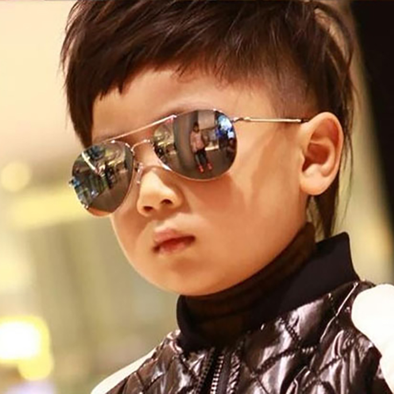 BUKE New Fashion Baby Kids Sunglasses Style Brand Design Children Cool Sun Glasses Oculos De Sol UV400