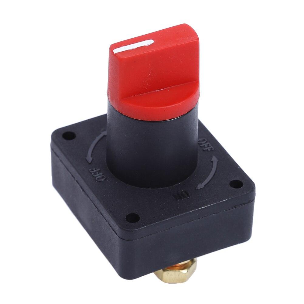 Универсальный автомобильный мастер Батарея разъединитель роторный отрезать Мощность убить переключатель включения-выключения 12 В 100A для …