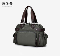 Free Shipping 2017 European And American Fashion For Men And Women Bag Oxford Cloth Bag New