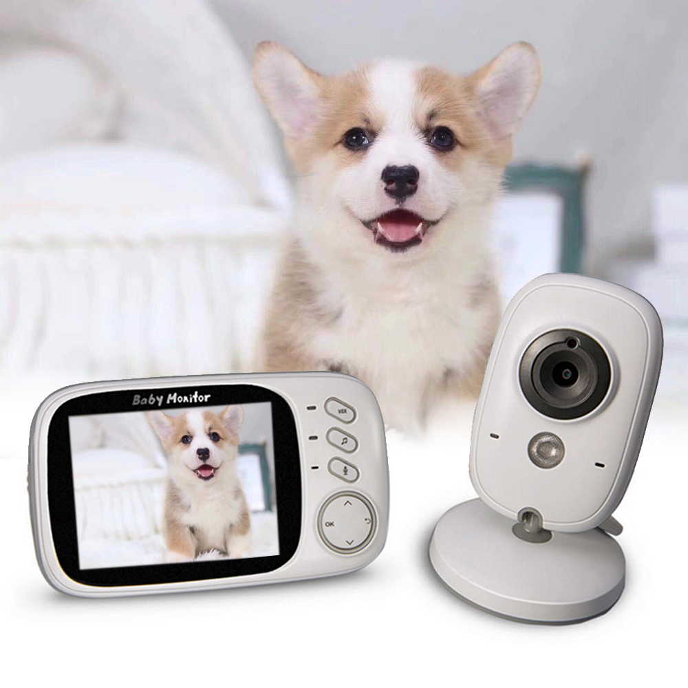 Night Vision Sleep LCD Sreen VB603 3 2inch Wireless Love Pet Monitor Camera Video Monitor Care