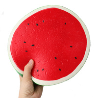 8.86 inch Squishy Giant Watermelon Squeeze Toy Slow Rising Squash Fruit Decompression Toys Gift
