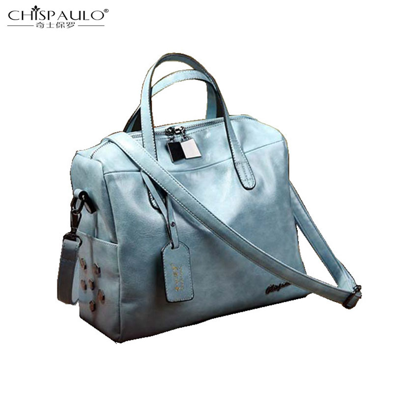 Europe and the United States fashion new temperament simple soft leather handbags casual handbags Boston small square bag europe and the united states fashion leather handbags 2017 new retro hit color decals leather small square bag shoulder bag