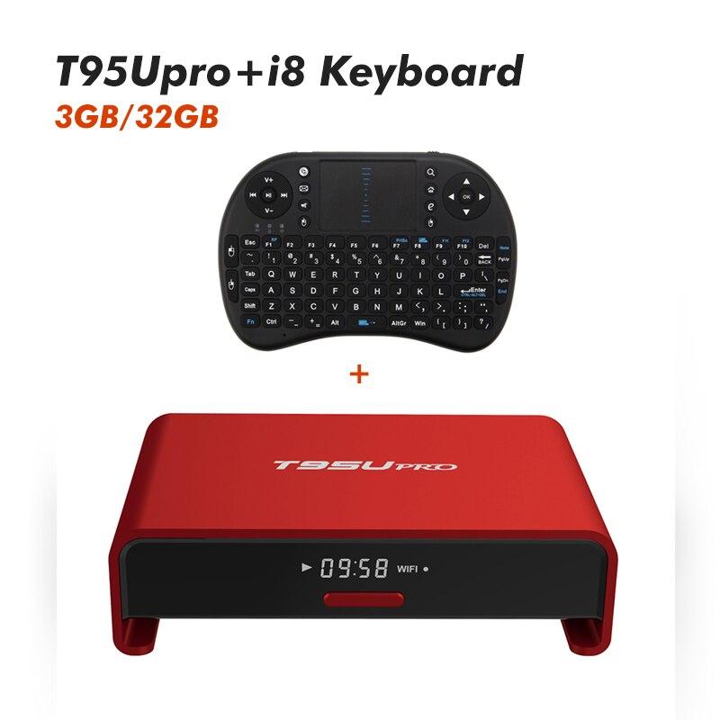 S912 Amlogic 3 GB RAM 32 GB ROM Android TV Box T95u Pro Quad Core 4 K H.265 WiFi