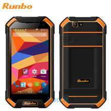 Mise à niveau version 3 GB RAM d'origine Runbo F1 MTK6735 Quad Core robuste Étanche Téléphone antichoc IP67 1920×1080 4G LTE Android GPS