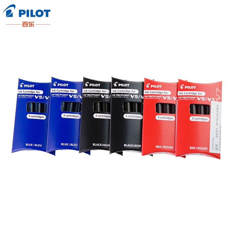 PILOT Colored Gel Pen Refill Ink Gallbladder School Stationery Office Supplies Pen Ink Refill For BXC-V5/V7 BXS-IC