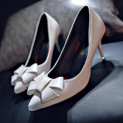 2019 spring new high heels Europe and America sexy stiletto pointed shallow mouth single shoes womens fashion shoes-12019 spring new high heels Europe and America sexy stiletto pointed shallow mouth single shoes womens fashion shoes-1