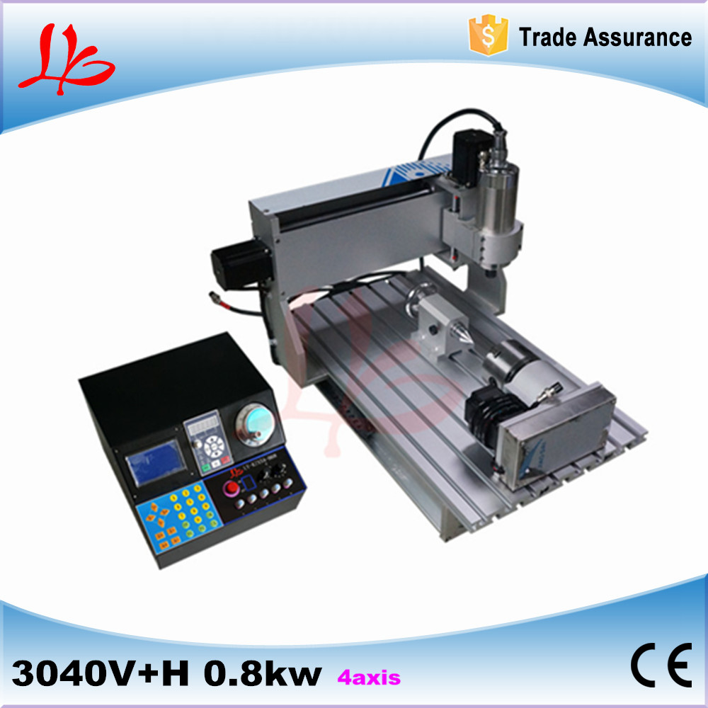 Russia tax free 3d cnc router cnc milling machine 3040 800w spindle For PCB/Woodworking 3040 wood cnc router cnc machine woodworking machinery free tax to russia