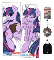 New My Little Po MLP Anime Dakimakura Japanese Hugging Body Pillow Cover ADP64057