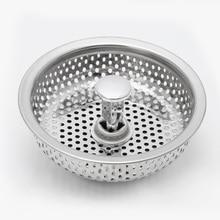 Mesh Kitchen Stainless Steel Sink Strainer Disposer Plug Drain Stopper Filter #Sep.07