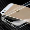 1 pcs ultra fino de silicone macio de alta clear case para apple ipphone 5 s 5g crystal clear tpu phone cases capa para iphone se 5s case