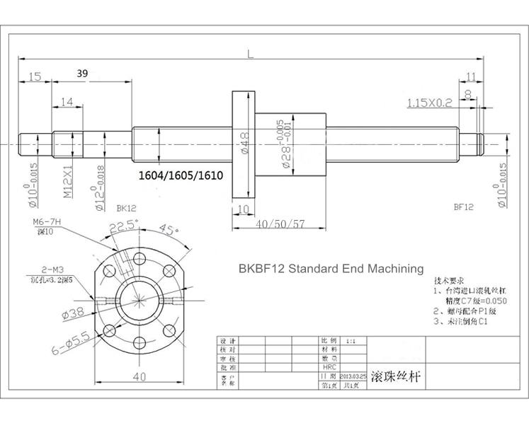 16 end machining