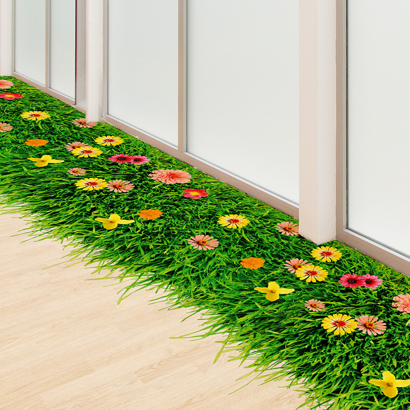[SHIJUEHEZI] Sticker për dyshekët e lëndinëve të luleve DIY - Dekor në shtëpi - Foto 3