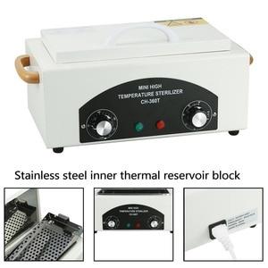 Image 3 - 300w Dry Heat High Temperature UV Sterilizer Box Nail Art Tool Sterilizer Box Hot Air Disinfection Cabinet For Manicure Salon