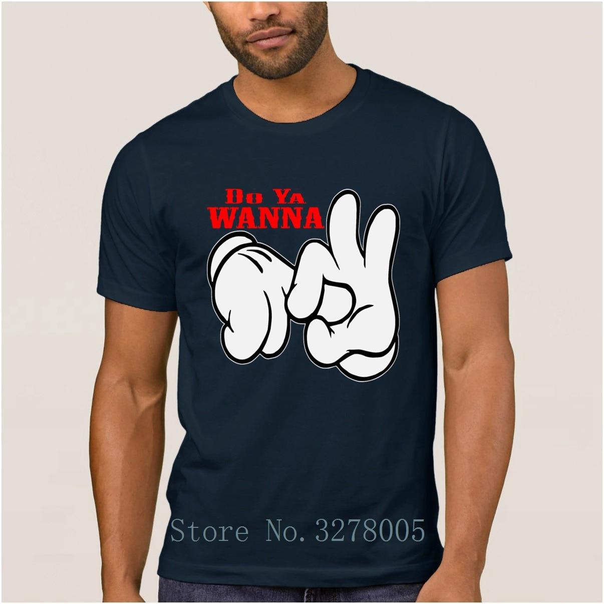 Marque La Maxpa Do Ya veux sexe dessin animé t-shirts pour hommes Funky hommes T-Shirt hommes 2018 taille européenne S-3xl unisexe hommes T-Shirt