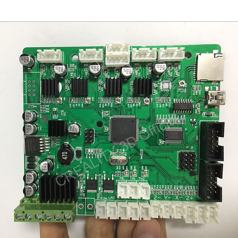 Creality CR-10S 3D Printer Motherboard/Mainboard Replacement Upgraded Version With Filament Monitoring Alarm Original Supply