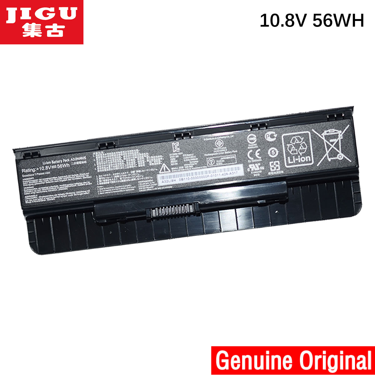 JIGU Original Laptop Battery For Asus N551JN N551JQ N551JV N551JW N551JX N551Z N551ZU N751 N751J N751JK N751JM N751JQ