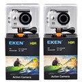 Eken H9 H9R ультра FHD 4 K 25FPS Wi-Fi действие Камера 30 M Водонепроницаемый 1080 p 60fps подводный go удаленного extreme pro Спорт cam