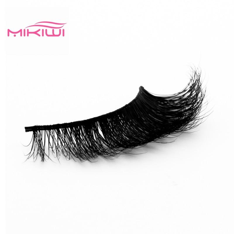 4774df01438 MIKIWI 3d mink lashes A19 CHEAP handmade 3D Mink handmade factory wholesale  full strip Cruelty Free false eyelashes -in False Eyelashes from Beauty &  Health ...